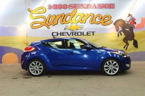 2013 Hyundai Veloster for sale at Sundance Chevrolet in Grand Ledge MI