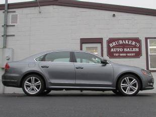 2013 Volkswagen Passat for sale at Brubakers Auto Sales in Myerstown PA
