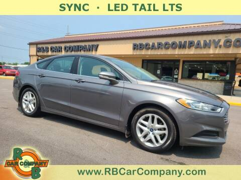 2014 Ford Fusion for sale at R & B Car Company in South Bend IN