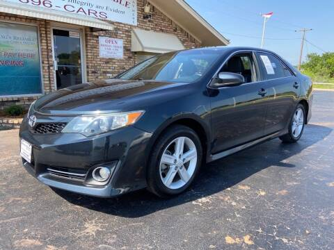 2012 Toyota Camry for sale at Browning's Reliable Cars & Trucks in Wichita Falls TX