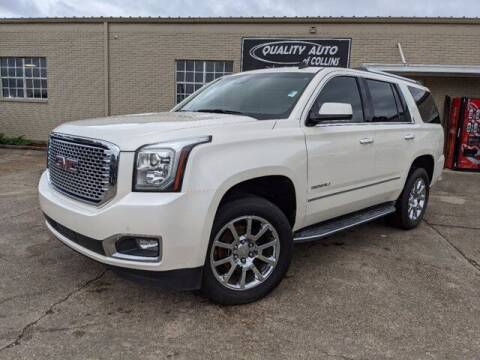 2015 GMC Yukon for sale at Quality Auto of Collins in Collins MS
