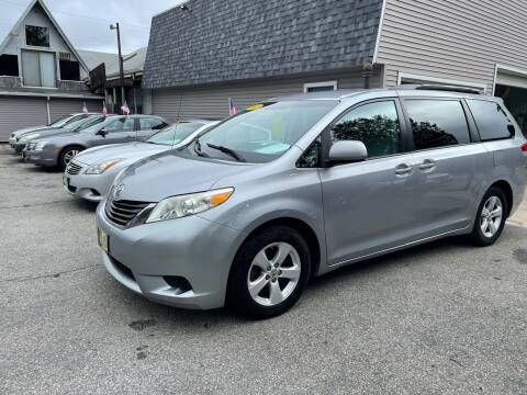2011 Toyota Sienna for sale at JK & Sons Auto Sales in Westport MA
