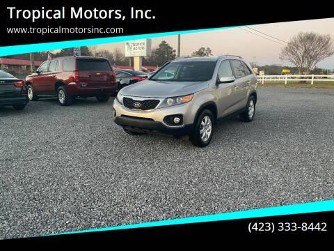 2013 Kia Sorento for sale at Tropical Motors, Inc. in Riceville TN
