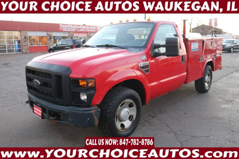 2009 Ford F-350 Super Duty for sale at Your Choice Autos - Waukegan in Waukegan IL