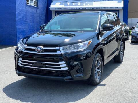 2018 Toyota Highlander Hybrid for sale at AGM AUTO SALES in Malden MA