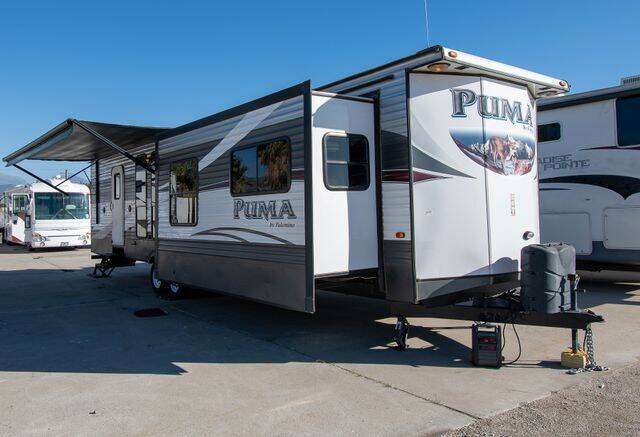 2016 Forest River Palomino Puma 39FKS for sale at GQC AUTO SALES in San Bernardino CA