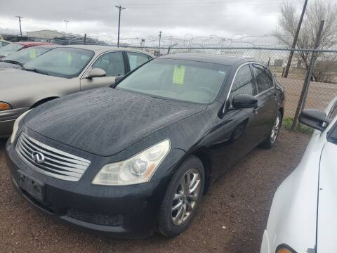 2008 Infiniti G35 for sale at PYRAMID MOTORS - Fountain Lot in Fountain CO