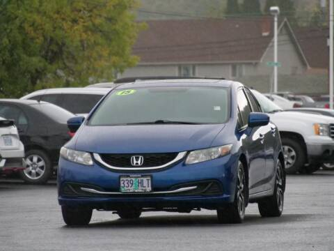2015 Honda Civic for sale at CLINT NEWELL USED CARS in Roseburg OR