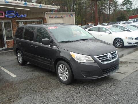 2012 Volkswagen Routan for sale at AutoStar Norcross in Norcross GA