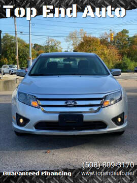 2012 Ford Fusion for sale at Top End Auto in North Atteboro MA
