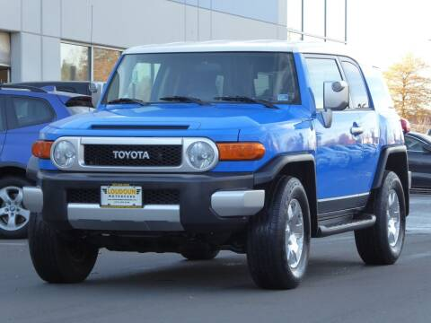 2007 Toyota FJ Cruiser for sale at Loudoun Used Cars - LOUDOUN MOTOR CARS in Chantilly VA
