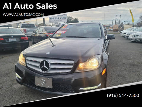 2012 Mercedes-Benz C-Class for sale at A1 Auto Sales in Sacramento CA
