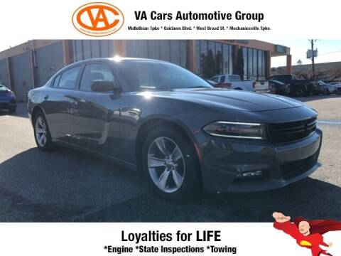 2018 Dodge Charger for sale at VA Cars Inc in Richmond VA
