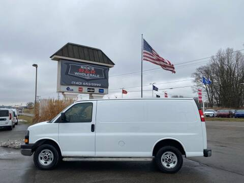 2016 GMC Savana Cargo for sale at Rick's R & R Wholesale, LLC in Lancaster OH