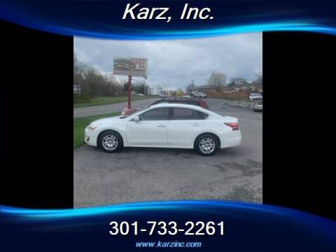 2014 Nissan Altima for sale at Karz INC in Funkstown MD
