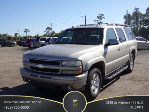 2005 Chevrolet Suburban for sale at M & M AUTO BROKERS INC in Okeechobee FL