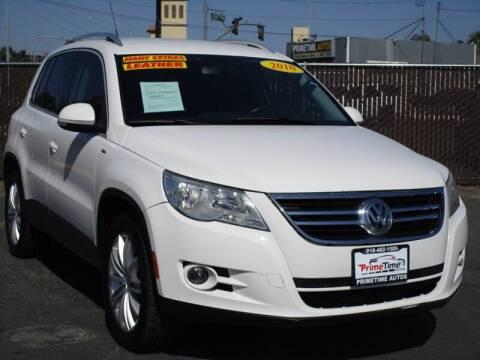 2010 Volkswagen Tiguan for sale at PRIMETIME AUTOS in Sacramento CA