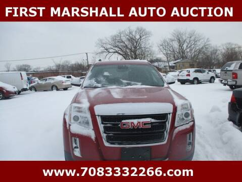 2015 GMC Terrain for sale at First Marshall Auto Auction in Harvey IL