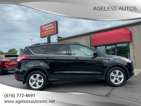 2016 Ford Escape for sale at Ageless Autos in Zeeland MI