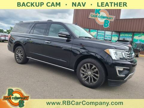 2019 Ford Expedition MAX for sale at R & B Car Co in Warsaw IN