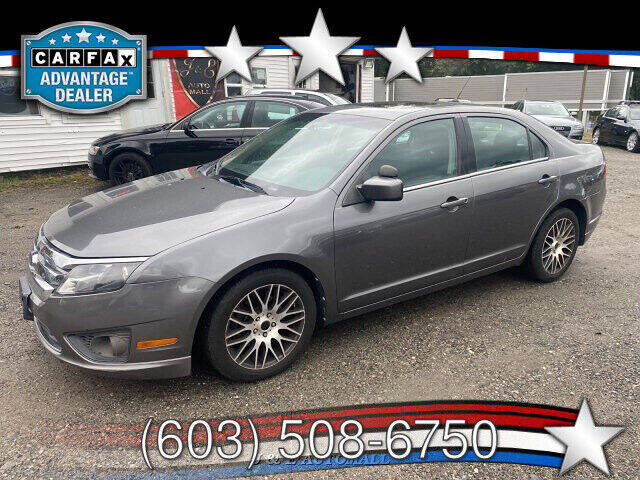2010 Ford Fusion for sale at J & E AUTOMALL in Pelham NH