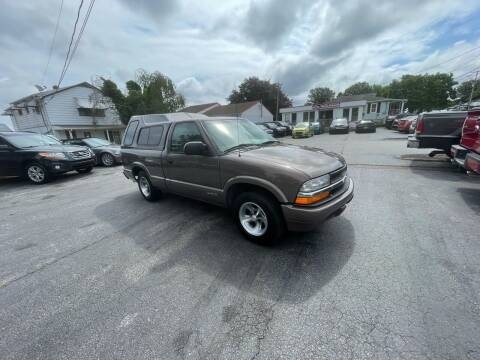 1999 Chevrolet S-10 for sale at LAUER BROTHERS AUTO SALES in Dover PA