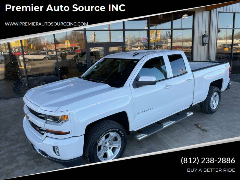 2017 Chevrolet Silverado 1500 for sale at Premier Auto Source INC in Terre Haute IN