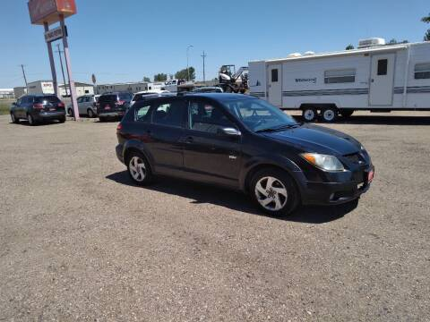 2004 Pontiac Vibe for sale at Ron Lowman Motors Minot in Minot ND