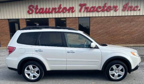 2010 Subaru Forester for sale at STAUNTON TRACTOR INC in Staunton VA