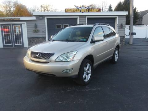 2007 Lexus RX 350 for sale at American Auto Group, LLC in Hanover PA