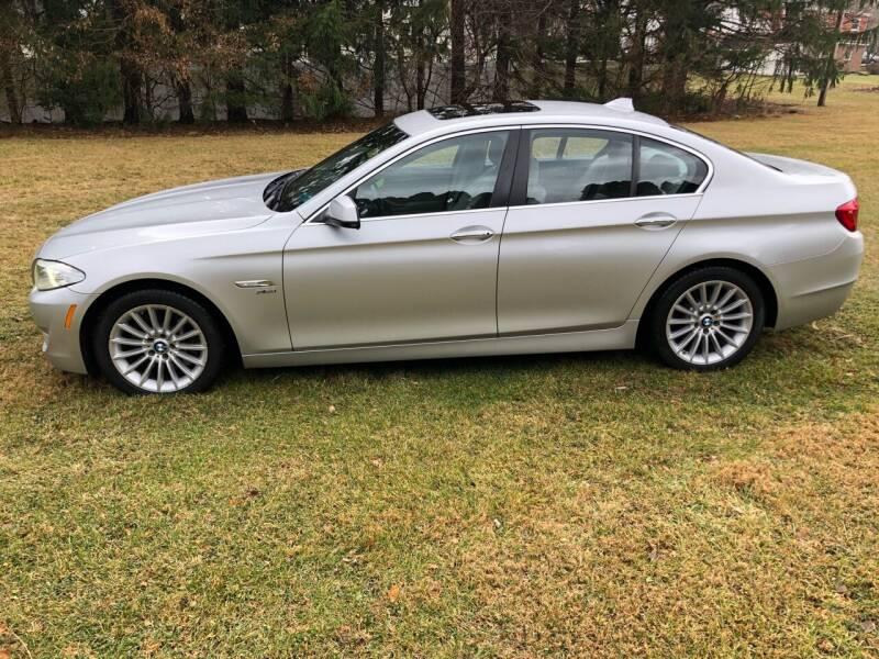 2012 BMW 5 Series for sale at MECHANICSBURG SPORT CAR CENTER in Mechanicsburg PA