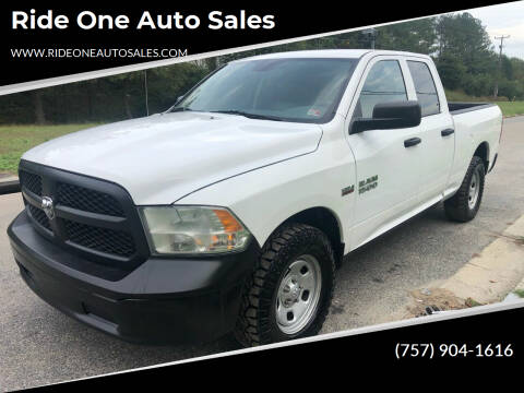 2015 RAM Ram Pickup 1500 for sale at Ride One Auto Sales in Norfolk VA