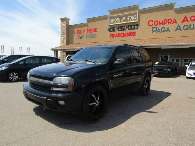 2003 Chevrolet TrailBlazer for sale at Import Motors in Bethany OK