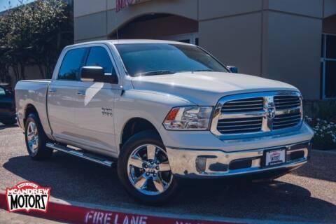 2016 RAM Ram Pickup 1500 for sale at Mcandrew Motors in Arlington TX