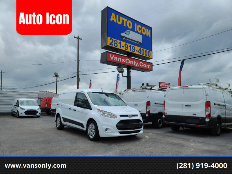 2016 Ford Transit Connect Cargo for sale at Auto Icon in Houston TX