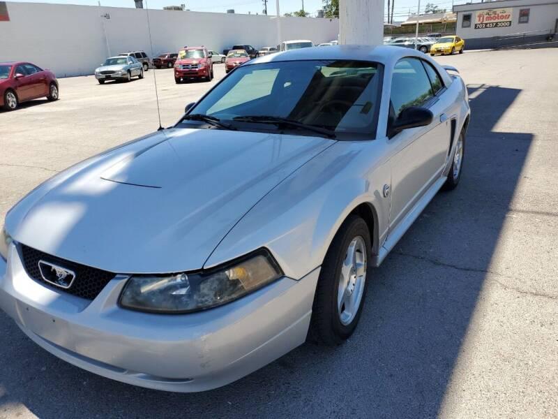 2004 Ford Mustang for sale at TJ Motors in Las Vegas NV