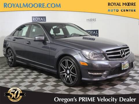 2014 Mercedes-Benz C-Class for sale at Royal Moore Custom Finance in Hillsboro OR