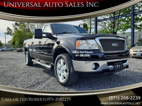 2007 Ford F-150 for sale at Universal Auto Sales Inc in Salem OR