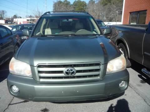 2005 Toyota Highlander for sale at Credit Cars LLC in Lawrenceville GA