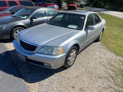 2001 Acura RL for sale at Sartins Auto Sales in Dyersburg TN