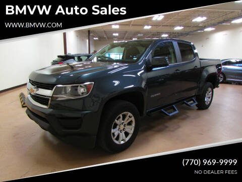 2020 Chevrolet Colorado for sale at BMVW Auto Sales - Trucks and Vans in Union City GA