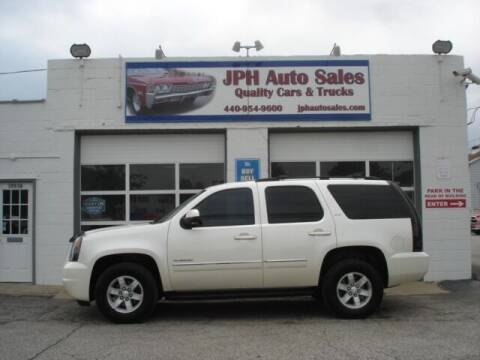 2012 GMC Yukon for sale at JPH Auto Sales in Eastlake OH