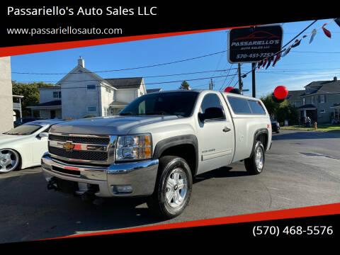 2012 Chevrolet Silverado 1500 for sale at Passariello's Auto Sales LLC in Old Forge PA
