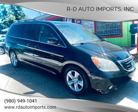 2009 Honda Odyssey for sale at R-D AUTO IMPORTS, Inc in Charlotte NC