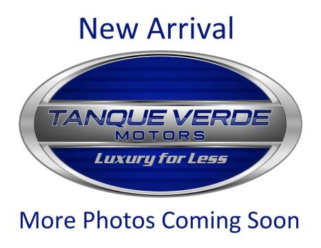 2018 Subaru WRX for sale at TANQUE VERDE MOTORS in Tucson AZ
