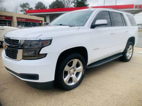 2015 Chevrolet Tahoe for sale at BRYANT AUTO SALES in Bryant AR