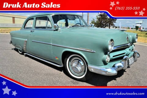 1952 Ford Custom Line for sale at Druk Auto Sales in Ramsey MN
