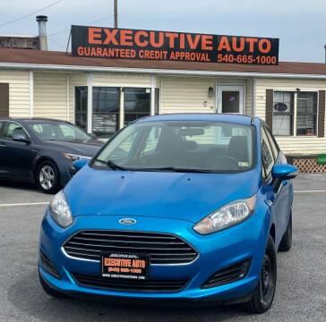 2014 Ford Fiesta for sale at Executive Auto in Winchester VA