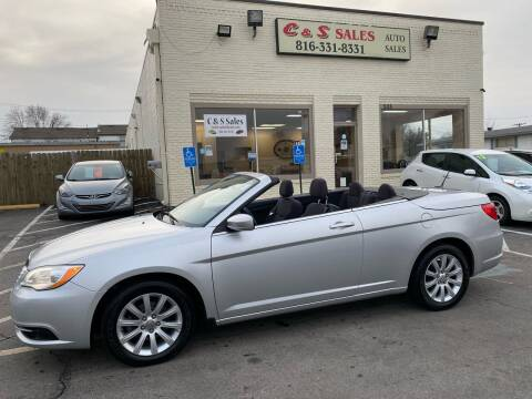 2012 Chrysler 200 Convertible for sale at C & S SALES in Belton MO