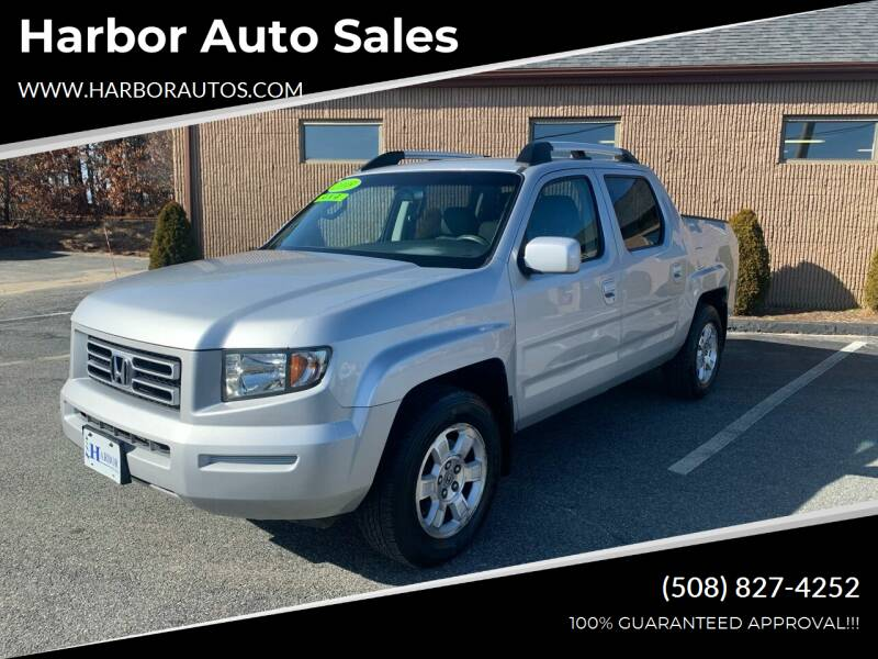 2008 Honda Ridgeline for sale at Harbor Auto Sales in Hyannis MA